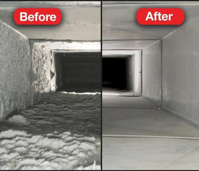 General Tips From SERVPRO About Duct Cleaning